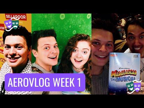 Madagascar UK Tour, Fame UK Tour & Mamma Mia Here We Go Again | AeroVlog Week 1