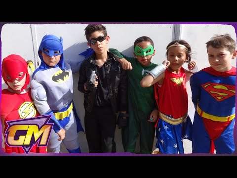 The Justice League Versus The Terminator: Kids Parody