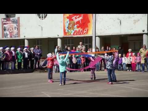 Флешмоб детских садов г.Сясьстрой ко Дню Победы