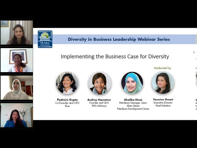 Webinar | Implementing the Business Case for Diversity