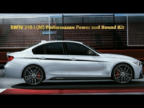 bmw 340i m performance power and sound kit youtube. Black Bedroom Furniture Sets. Home Design Ideas