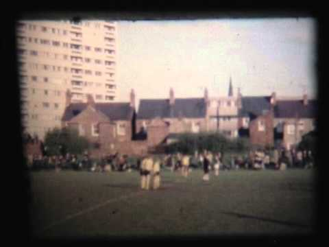 Football at the Old Flint Town United Ground C 1970
