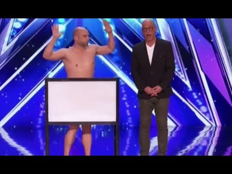 Vinny Grosso: The NAKED MAGICIAN Will Have You Laugh!!   America's Got Talent