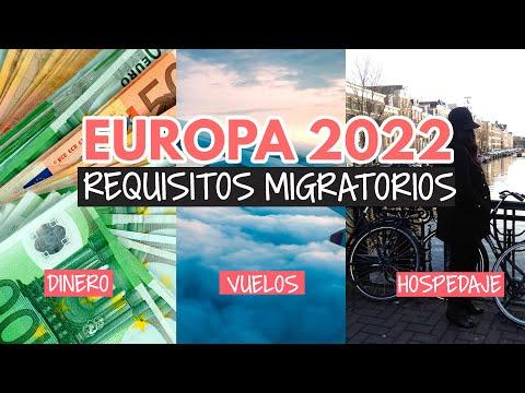 Requisitos para entrar a la Unión Europea (actualizados 2021)