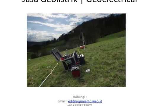 Jasa Geolistrik | Geo Electric Kabupaten Wakatobi-Wangi-Wangi Sulawesi Tenggara