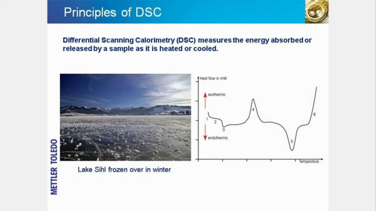 Download Differential Scanning Calorimetry (DSC) – online training course