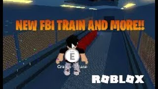 ROBBING THE NEW FBI TRAIN!! (Roblox Jailbreak)