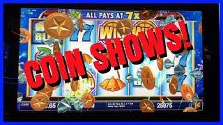 🎉 COIN SHOWS + Big Slot Machine Wins 💰🎰✦ Slot Machine Pokies w Brian Christopher