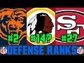 Ranking Every NFL DEFENSE From WORST To FIRST For 2019 (NFL Defense Rankings)