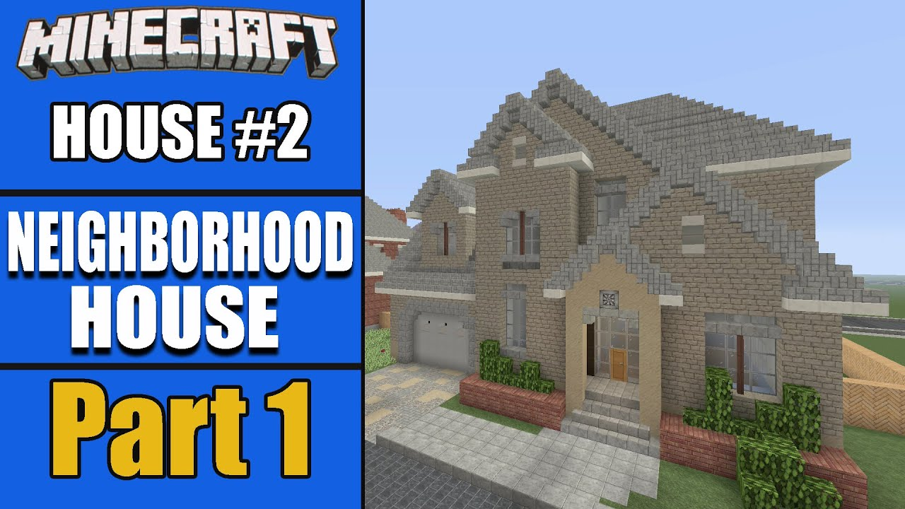 Awesome LET S BUILD A NEIGHBORHOOD HOUSE Part 1!!   House #2 S2