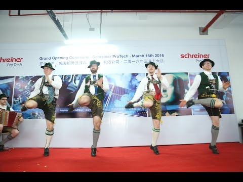 Grand Opening Ceremony Schreiner Group (Shanghai) Co., Ltd.