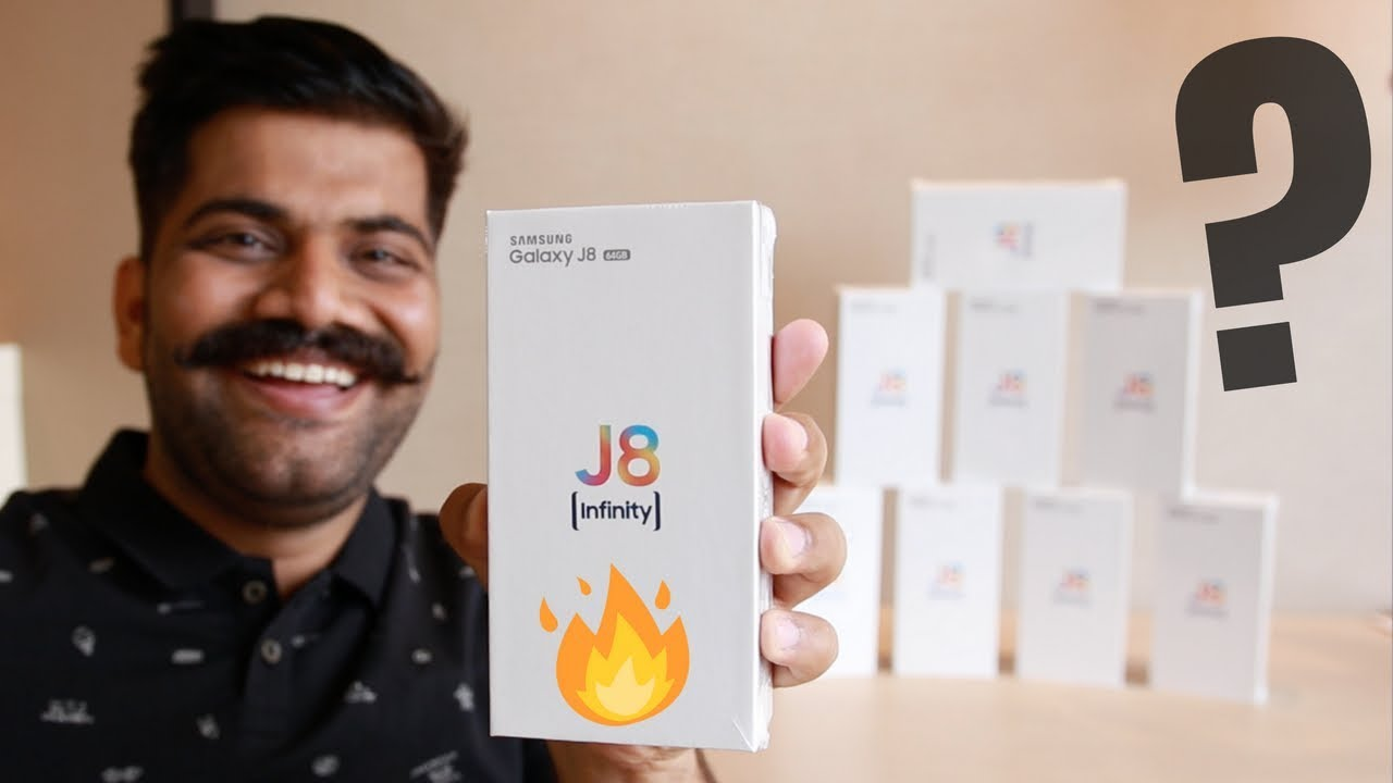 Samsung Galaxy J8 Unboxing & Giveaway