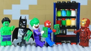 Lego Superhero Ironman Build Vending Machine