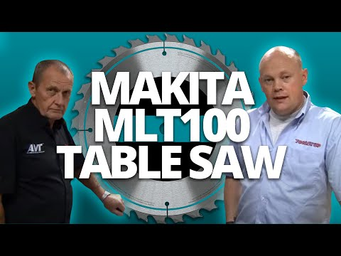 makita mlt100 260mm table saw youtube. Black Bedroom Furniture Sets. Home Design Ideas