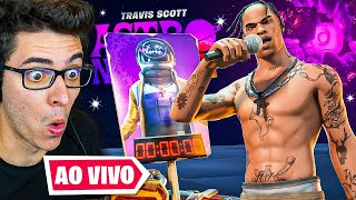 SHOW DO TRAVIS SCOTT NO FORTNITE! EVENTO AO VIVO!