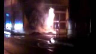 Incendie rue de la poste à Aubagne