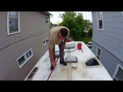 RV Roof Cleaning and Inspection