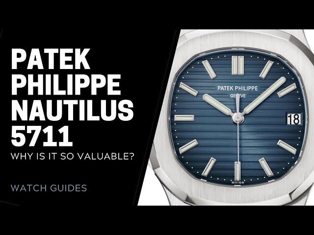 Patek Philippe Nautilus 5711: Why Is It So Valuable? | SwissWatchExpo