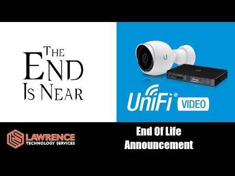 UniFi-Video Products End of Life Announcement