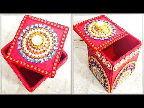 Multipurpose Storage Box | DIY Organizer From cardboard | Waste Material craft