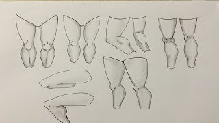 How to Draw Manga Legs for Beginners