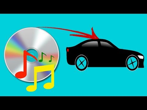 How to burn MP3 to an Audio Music CD for Car CD Player