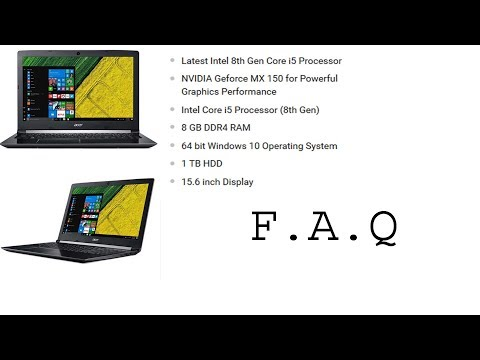 FAQ on acer A515-51G (is-8generation) and  Display Quality, gaming performance etc. (Hindi)