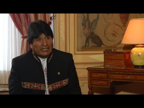 Exclusive interview with Bolivian president Evo Morales on FRANCE24