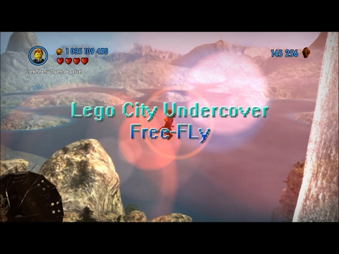 ❲Lego City Undercover - Wii U❳ Free-Fly Hack ❲Missions Maps Exploration❳