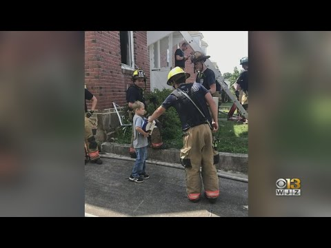 Bob Delmont - Baltimore Boy does something sweet for MD Firefighters