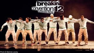 Serial Stepperz House Dance Freestyle (Encore) at Breakin Convention 2012