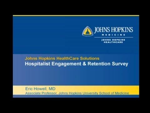 Johns Hopkins Medicine Hospitalist Morale Survey Webinar