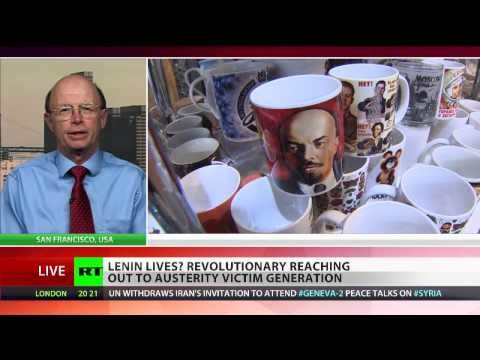 Richard Becker exclusive RT TV interview on Vladimir Lenin's legacy