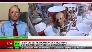 Richard Becker exclusive RT TV interview on Vladimir Lenin