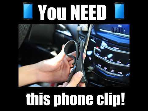 DASHBOARD PHONE CLIP HOLDER