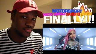 Migos, Nicki Minaj, Cardi B - MotorSport (Official Video) Reaction!!