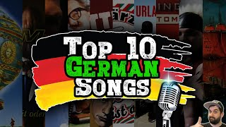 TOP 10 GERMAN SONGS OF ALL TIME ✨ 80s, pop, rock, metal, hip hop