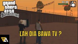 GTA San Andreas Indonesia - Kok Dia Bawa TV? & Superhero Diet! (Momen Lucu)