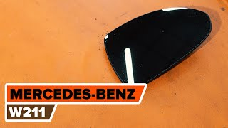 Installation Spiegelglas selbst Videoanleitung auf MERCEDES-BENZ E-CLASS