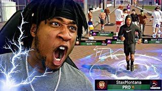 93 OVERALL REACTION! I GOT A CRAZY OP BOOST TO BALL HANDLING AND SPEED! - NBA 2K19 MyPARK