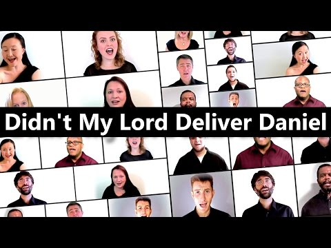 Didn't My Lord Deliver Daniel - 11 singers from 8 countries - A Cappella choir