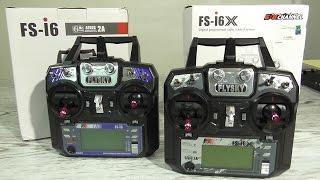 FLYSKY FS-I6X xs FS-I6 Огляд і різниця між FS-I6X і FS-I6