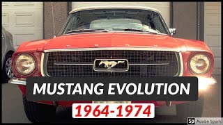 Ford Mustang GT Evolution - Part 1 | 1964 - 1974 | Exhaust Sound Compilation