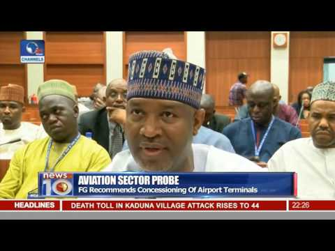 News@10: Reps. Hold Public Hearing Over Aviation Sector Probe 18/10/16 Pt.2