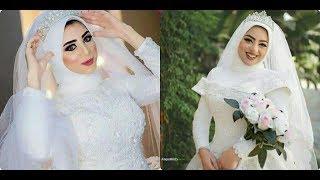 👈فساتين زفاف محجبات 👉احدث تشكيله 2019/2020