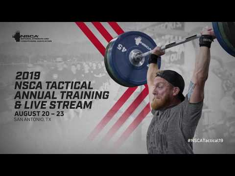 2019 NSCA Tactical Annual Training