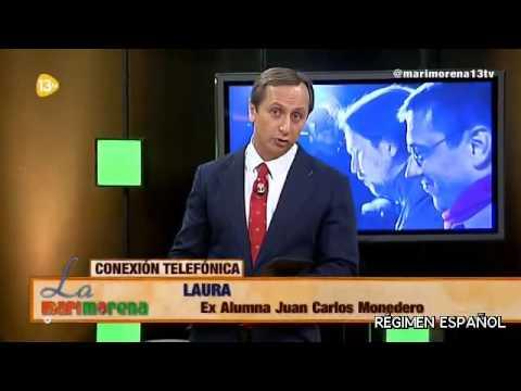 13tv sigue contra Venezuela y Podemos. Alberto Casillas con su hijo Enmanuel en La Marimorena