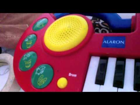 Alaron My Song Maker toy keyboard demo songs