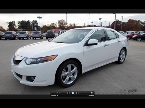 2009 Acura TSX Start Up, Exhaust, and In Depth Tour