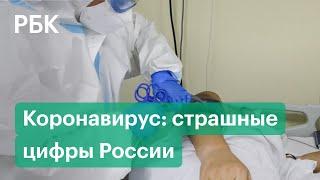 Так много еще не было никогда в России рекордное количество заболевших коронавирусом за сутки